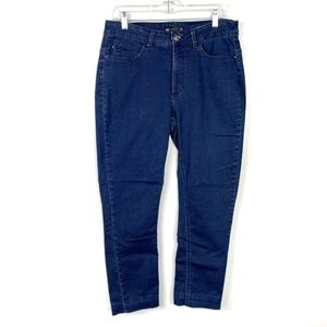 Lee Easy Fit Blue Jeans Size 14P